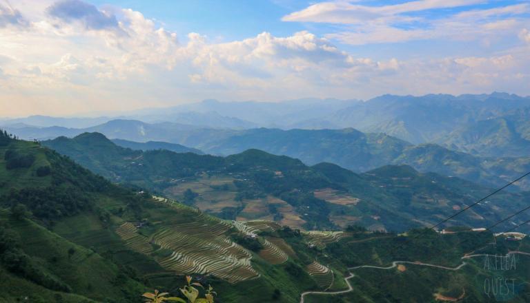 Des montagnes à perte de vue : le rêve...