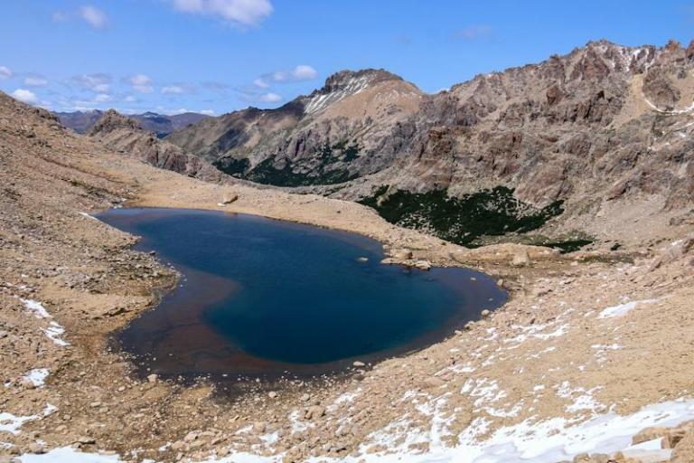 Vue du lac d'en haut. 2020 © dMb