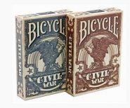 Kártyák Bicycle – Civil War póker kártya