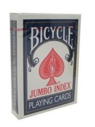 Kártyák Bicycle – Rider Back International, jumbo index kártya