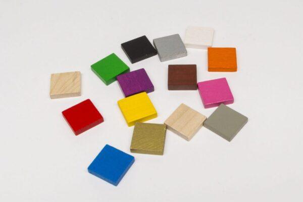 Játékalkatrészek Lapka 21 x 21 x 5 mm