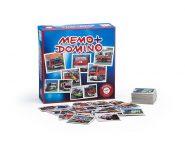Fejlesztő játékok Memo domino Tűzoltók