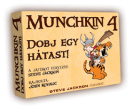 Delta Vision Munchkin – Dobj egy hátast! (színes)