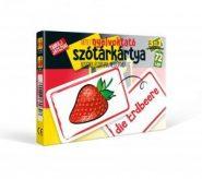 Fejlesztő játékok Nyelvoktató szótár kártya – Német