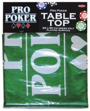 Kártyák Póker játékfelület filc (60×90 cm)