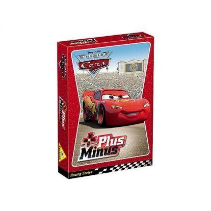 Kártyák Disney – Cars plus minus