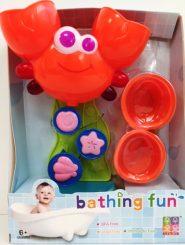 Fejlesztő játékok Bébi játék – Rák malom fürdőjáték