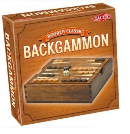 Társasjáték Backgammon – fadobozos