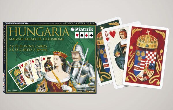 Kártyák Hungaria-Magyar királyok luxusrömi