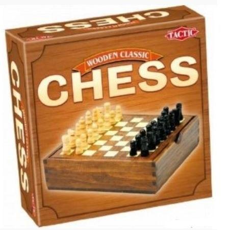 Társasjáték Sakk – fadobozos