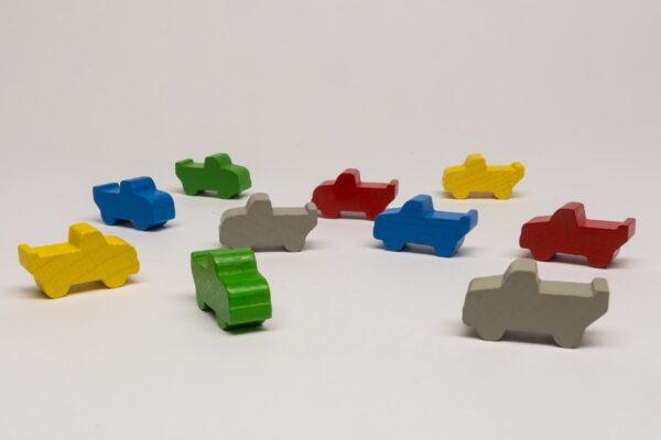 Játékalkatrészek Platós teherautó