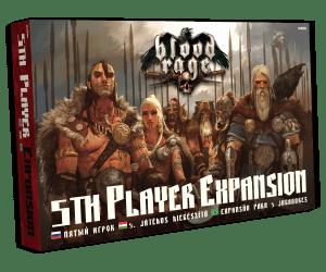 Delta Vision Blood Rage – 5. játékos kiegészítő