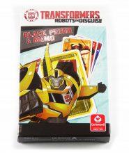 Kártyák Transformers – Fekete Péter és Memo