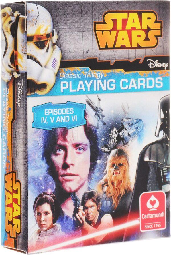 Kártyák Star Wars -IV-V-VI