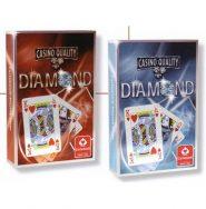 Kártyák Diamond szimpla bridge kártya