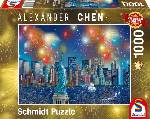 Puzzle Schmidt Puzzle -Statue of Liberty with fireworks 1000 db