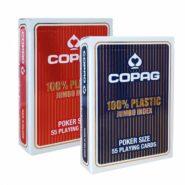 Kártyák Copag 100% – Jumbo Index Poker Size
