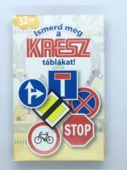 Kártyák Ismerd meg a Kresz táblákat!
