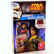 Kártyák Star Wars – Fekete Péter és Memo