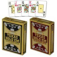 Kártyák Copag Texas Hold'em 100% Jumbo index