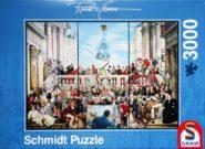 Puzzle Schmidt Puzzle – Sic transit gloria mundi, 3000 pcs
