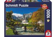 Puzzle Schmidt Puzzle – Reiteralpe – Ramsau, Upper Bavaria, 1000 db