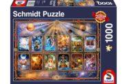 Puzzle Schmidt Puzzle – Signs of the zodiac, 1000 db