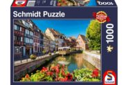 Puzzle Schmidt Puzzle – Little village with half-timbered houses, 1000 db