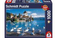 Puzzle Schmidt Puzzle – Lakeshore swans, 1000 db