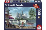 Puzzle Schmidt Puzzle – Notre-Dame, 1000 db
