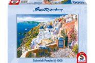 Puzzle Schmidt Puzzle – View from Santorin, Sam Park, 1000 db