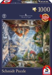 Puzzle Schmidt Puzzle – The mountain chapel, Thomas Kinkade, 1000 db