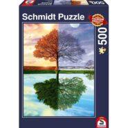 Puzzle Schmidt Puzzle – The seasons tree, 500 db