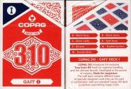 Kártyák Copag – 310 GAFF bűvész kártya