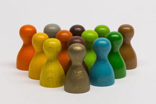 Játékalkatrészek Bábu 28×14 mm