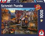 Puzzle Schmidt Puzzle – House on the channel, 1000 db