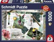 Puzzle Schmidt Puzzle – Stílus kollázs, 1000 db