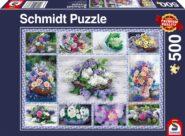 Puzzle Schmidt Puzzle – Bouquet of flowers, 500 db