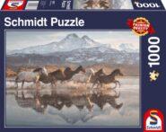 Puzzle Schmidt Puzzle – Pferde in Kappadokien, 1000 db