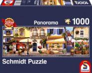 Puzzle Schmidt Puzzle – Párizsi séta – Panoráma, 1000 db