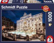 Puzzle Schmidt Puzzle – Fontana di Trevi, 1000 db