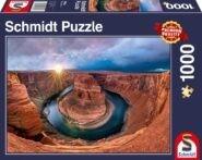 Puzzle Schmidt Puzzle – Glen Canyon, Horseshoe Bend on the Colorado River, 1000 db