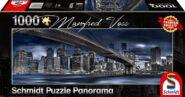 Puzzle Schmidt Puzzle – New York, Downtown Blue, 1000 db