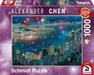 Puzzle Schmidt Puzzle – Fireworks over Hong Kong 1000 db
