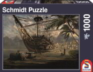 Puzzle Schmidt Puzzle – Ship at ancor, 1000 db