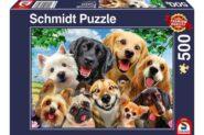 Puzzle Schmidt Puzzle – Dog Selfie, 500 db