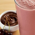 Chocolate Cherry Peanut Butter Smoothie