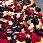 Fresh Berry Tart with Chambord Sauce