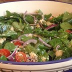 Marinated Tofu Salad with Capers