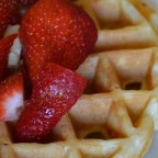 Tender and Easy Buttermilk Waffles